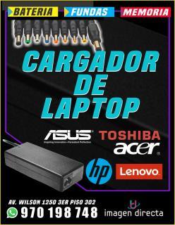 Cargadores de laptop